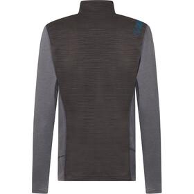La Sportiva Rook Koszulka z długim rękawem Mężczyźni, carbon/neptune